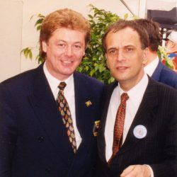 Jürgen Kerber meets Ministerpräsident R. Höppner